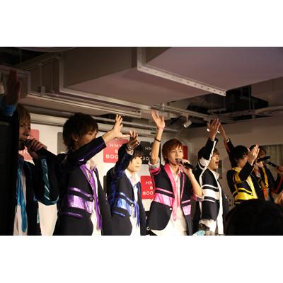 10.13「モヤモヤLovers」リリースイベント HMV&BOOKS TOKYO