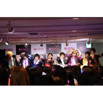 10.24「モヤモヤLovers」リリースイベント HMVエソラ池袋
